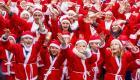 Winterswijk kleurt rood tijdens Rotary Santa Run voor Nierstichting
